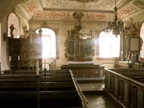 "Den ""nya"" altarplaceringen"